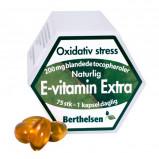 E-vitamin Ekstra 200 mg 75kap fra Berthelsen