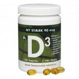 D-vitamin 90 mcg 120tab