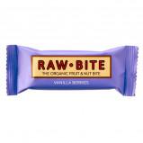 Rawbite Vanilla Berries - Laktose- og glutenfri frugt- og nøddebar Ø (50 gr)