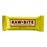 Rawbite Spicy Lime - Laktose- og glutenfri frugt- og nøddebar Ø (50 gr)