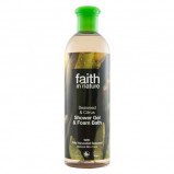 Shower gel alge ekstrakt 400ml fra Faith in nature