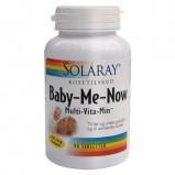 90 tabletter - fra Solaray Baby Me Now