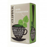 Brændenælde te med pebermynte 20 breve Clipper
