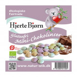 Chokolade mini linser glutenfi økologisk 100gr