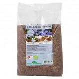 Hørfrø hele brune økologisk 1 kg. Naturdrogeriet