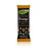 Lavish 70% Mørk rå chokolade m. Orange 44gr