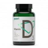 Vitamin D3 120 kapsler fra PurePharma