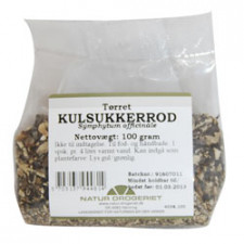 Natur Drogeriet Kulsukkerrod (2) (100 gr)