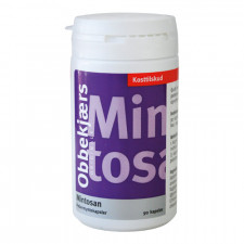 Obbekjærs Mintosan 200 mg (90 kapsler)