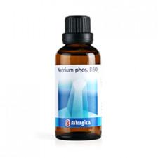 Cellesalt 9: Natrium phos. D30, 50 ml.