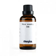 Nux Vomica D6, 50 ml.