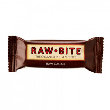 Rawbite Raw Cacao Glutenfri Rawfood Bar (50 gr)