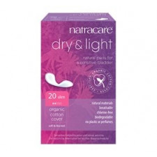 Natracare Dry and Light til Inkontinens (20 Stk)
