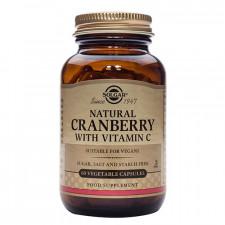 Solgar Cranberry - Tranebær med C-vitamin (60 kaspler)