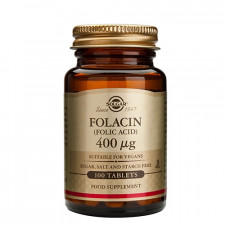Solgar Folinsyre (Folacin) 400 mcg - 100 tabs.