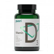 PurePharma Vitamin D3 med Kokosolie (120 kapsler)