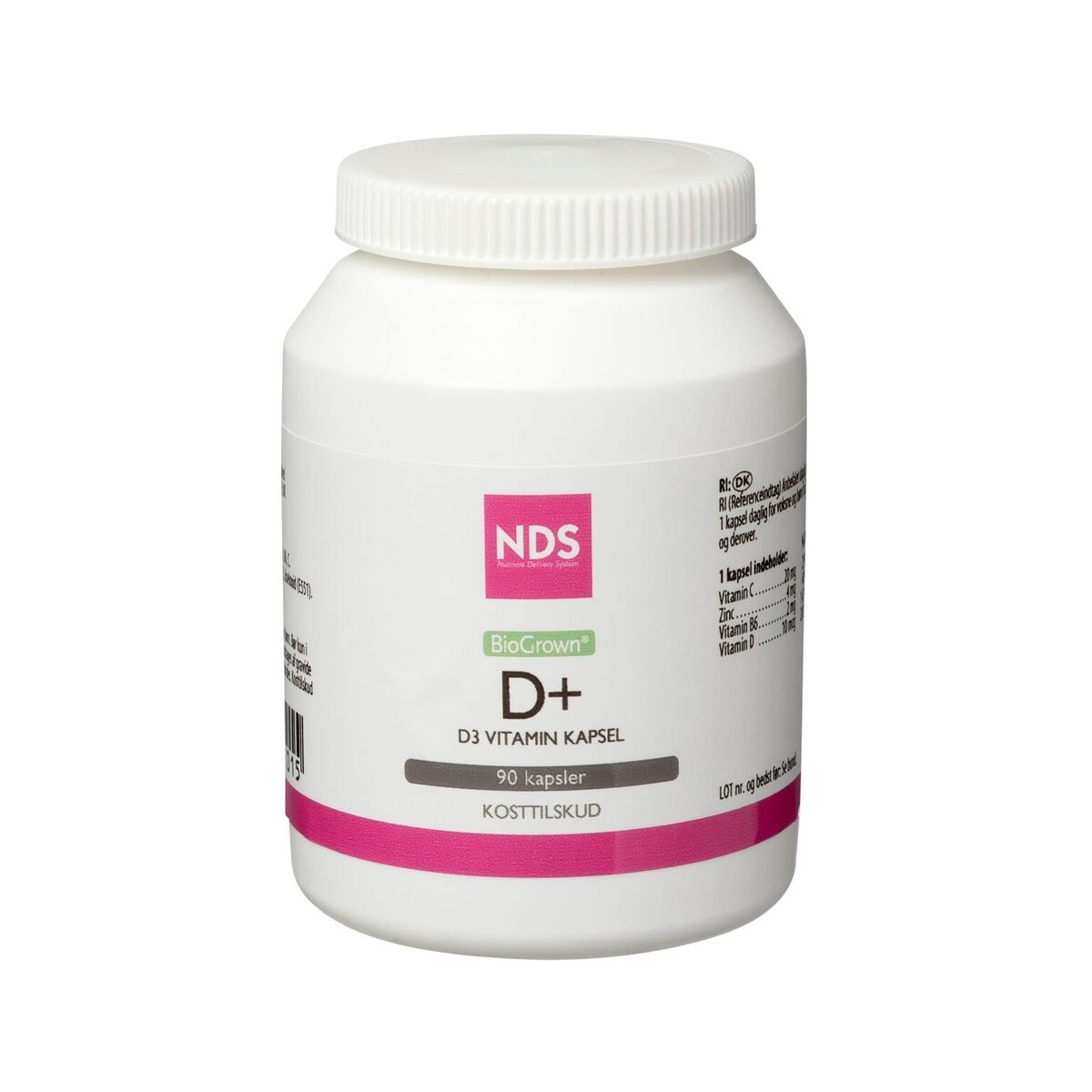 NDS D3+ vitamin tablet 90 tab