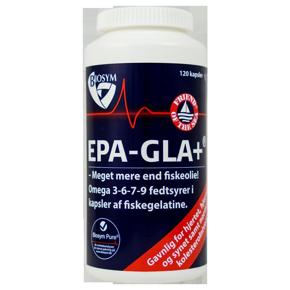 Biosym EPA-GLA+ (120 kapsler)