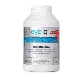 Eye Q Chews tyggekap. m/ jordbærsmag 360 kap
