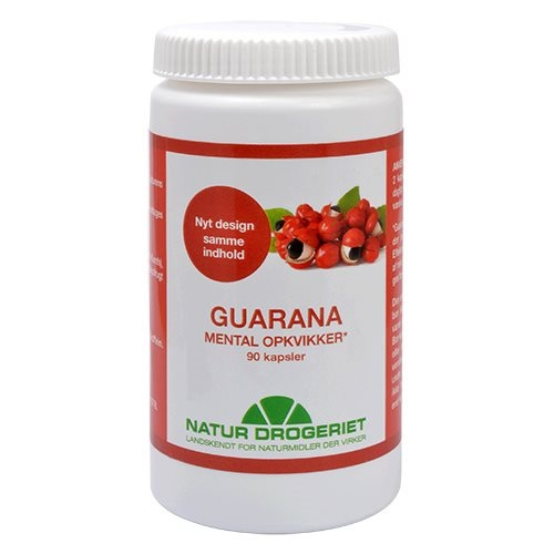 Guarana 500 mg 90 kap fra naturdrogeriet