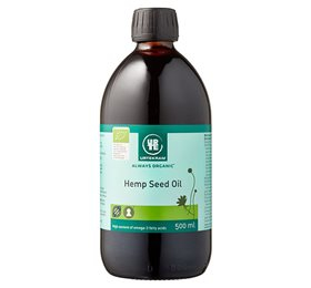 Hampefrøolie økologisk 500 ml fra Urtekram