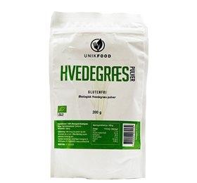 Unik Food hvedegræs pulver fra Helse Helse