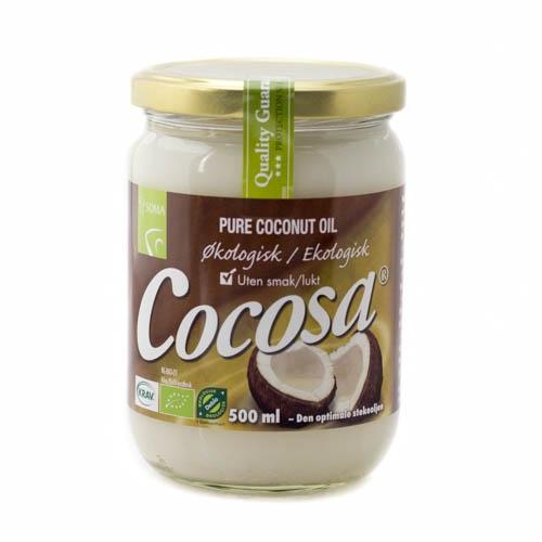 Cocosa ren kokosolie som stegeolie 500 ml