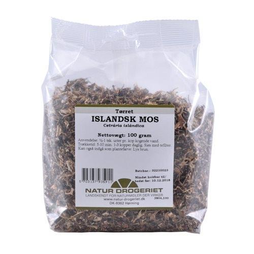 Islandsk mos 100 gr fra Naturdrogeriet