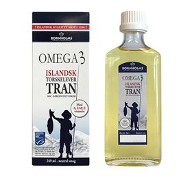 Image of   Bornholms tran Omega 3 240ml
