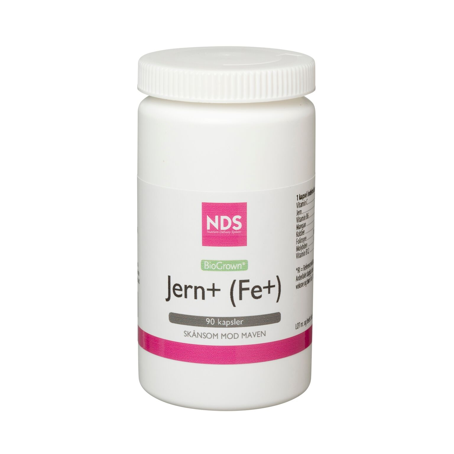 NDS Fe+ jern tablet 90 tab