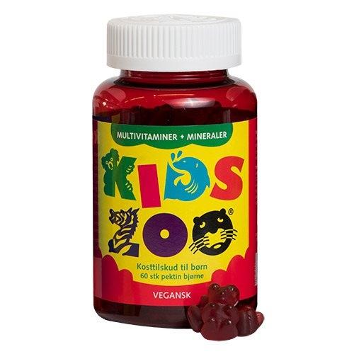 Kids Zoo multivitaminer og mineraler - Veganske 60stk