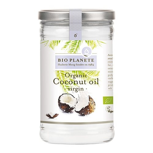 Kokosolie koldpresset jomfru økologisk 1000ml