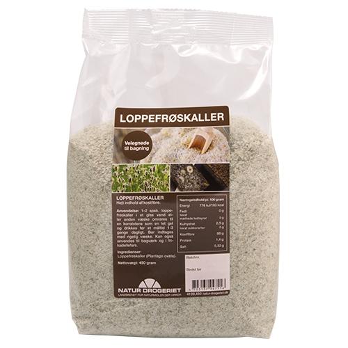 Loppefrøskaller 450 gr fra Naturdrogeriet