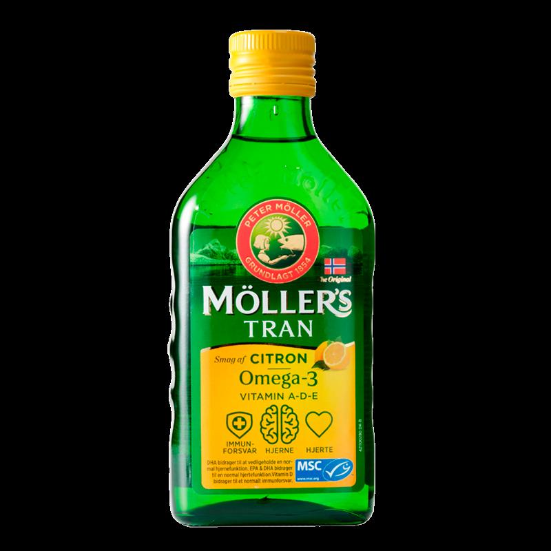 Møllers tran citrus 250ml