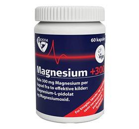 Image of   Biosym Magnesium +300 (60 kapsler)