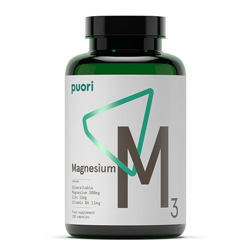 Image of   Magnesium M3 120 kap fra PurePharma