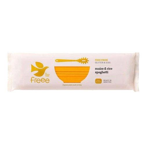 Image of   Majs - Ris Spaghetti 500gr glutenfri økologisk fra Doves Farm