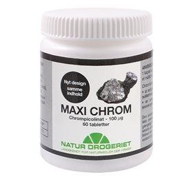 Image of   Maxi Chrom 100 ug 60 tab fra Natur Drogeriet