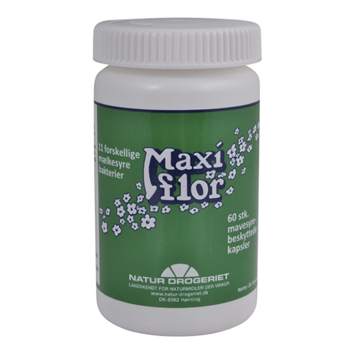Image of   Maxiflor mælkesyrebakterier 60 kap