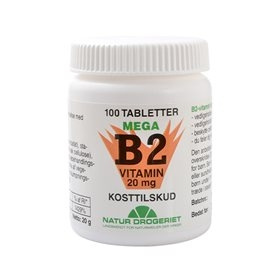 Image of   Mega B2 vitamin 20mg 50 tab