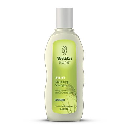 Millet nourishing shampoo 190ml Weleda