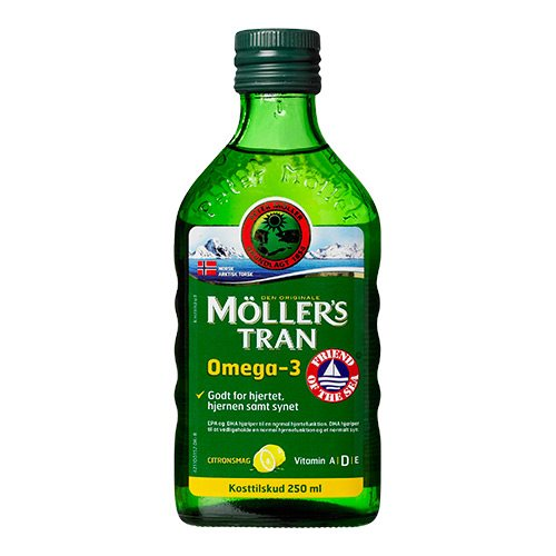 Image of   Møllers tran citrus 250ml