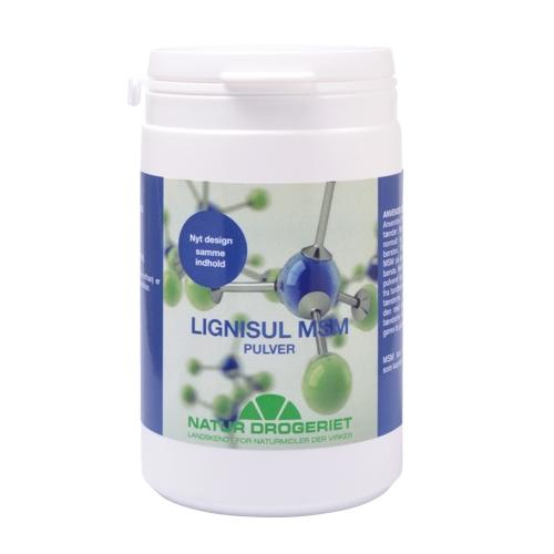 Image of   Lignisul MSM Pulver bio 200gr fra Natur Drogeriet