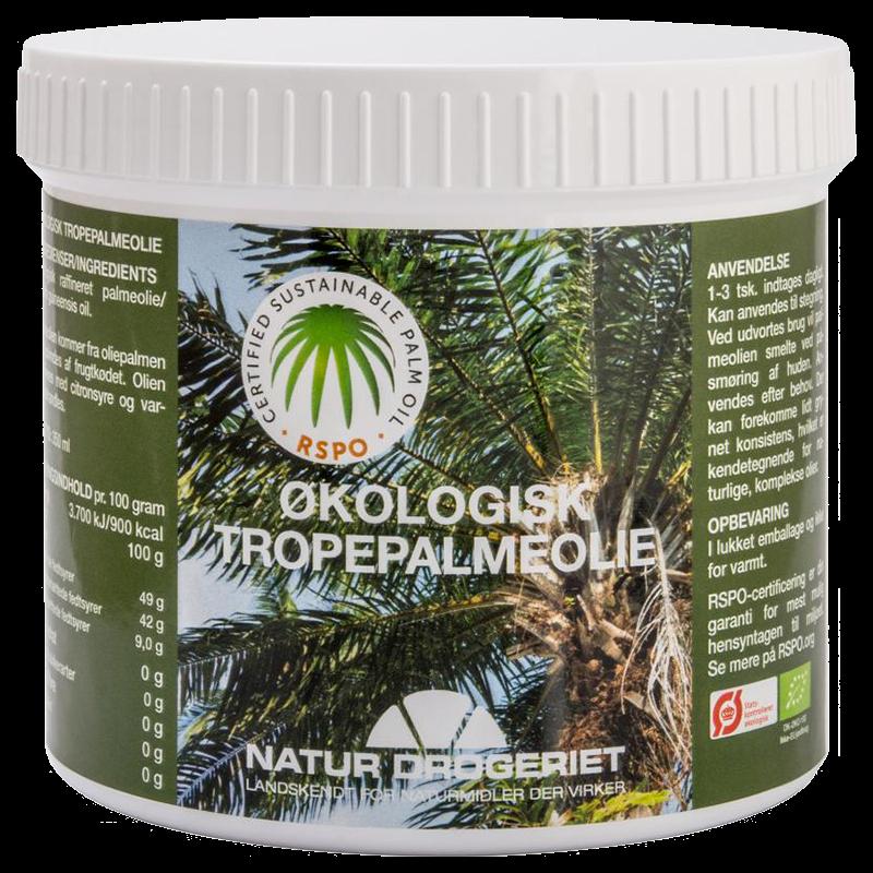 Palmeolie Økologisk 350 gr fra Naturdrogeriet