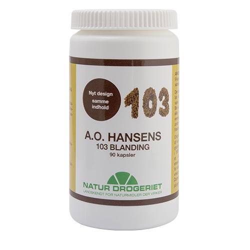 Image of   A.O. Hansen 103 90 kap fra Natur Drogeriet