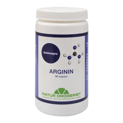 Image of   Natur-Drogeriet Arginin 90 kap