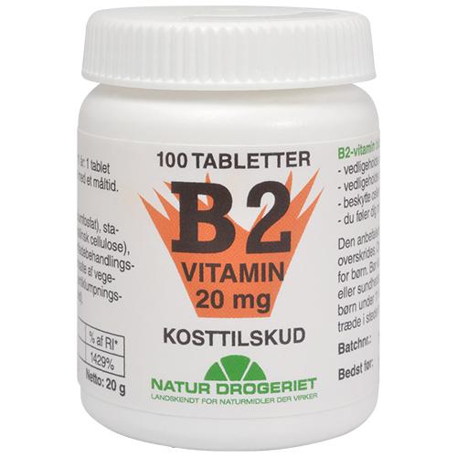 B2 vitamin 20mg 50 tab