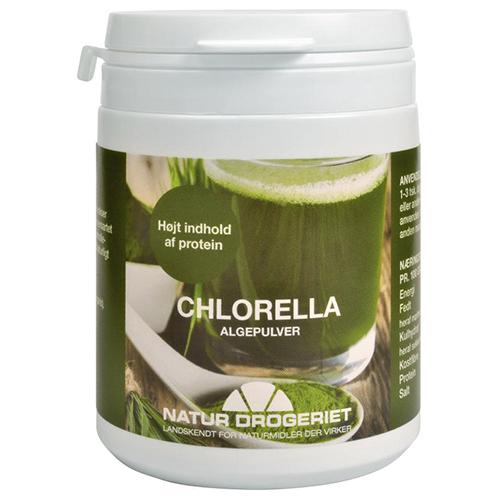 Chlorella pulver 70gr fra Naturdrogeriet