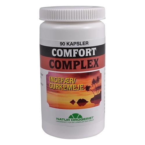 Comfort complex m.ingefær/gurkemeje 80 kap