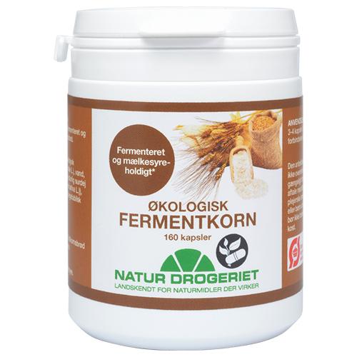 Image of   Fermentkorn 450 mg økologisk 160 kap